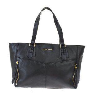Cole Haan Leather Handbag Black